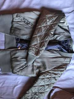 H&M Green Bomber Jacket