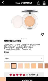 🚚 Mac CC cushion