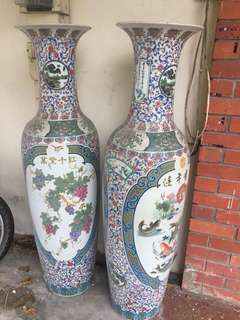 Antique Giant Porcelain Vase from China