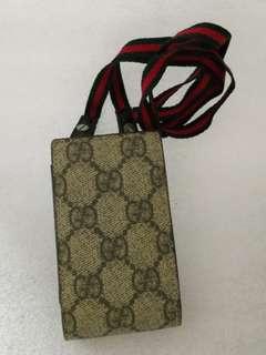 Gucci 舊款電話 硬揹袋 古董
