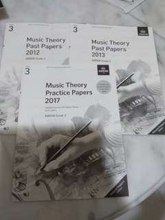 ABRSM Music Theory past papers grade 3