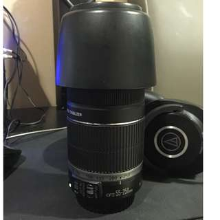 Canon EFS 55-250mm f4-5.6