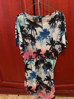 HnM tropical dress