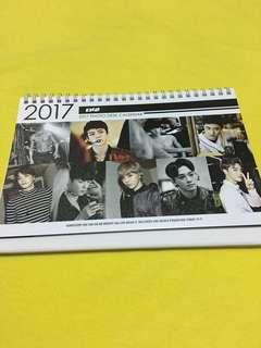Exo 2017 Calendar