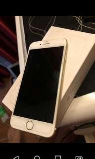 Iphone 6 64 gb putih gold