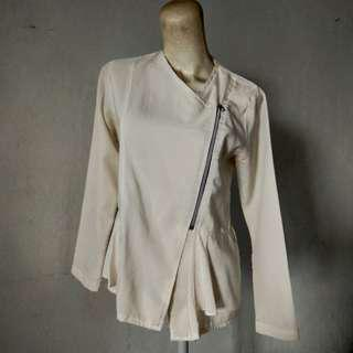 Blouse Semi Outer Blazer
