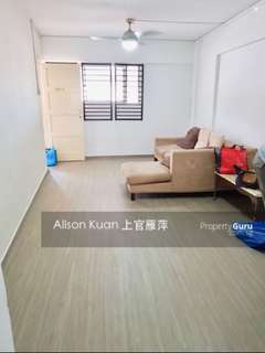 3 room HDB for immediate rent