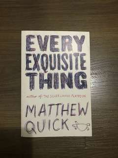 Matthew Quick book