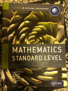 IB SL Math Textbook