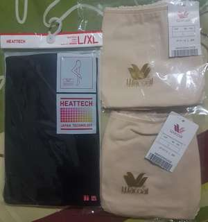 BNWT Heat tech tights and hipster panty