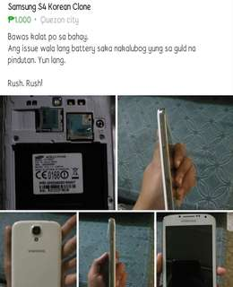 Samsung S4 Korean Variant Open line (Negotiable)