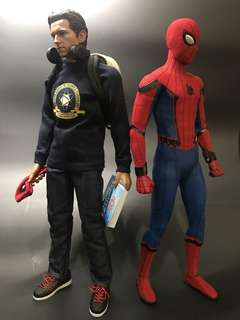 hot toys Homecoming spider man delux