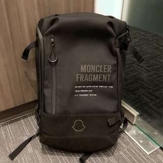 Moncler x fragment limited edition backpack