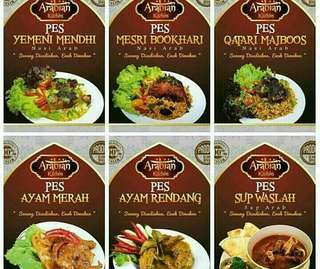 Pes nasi arab keluaran arabian kitchen
