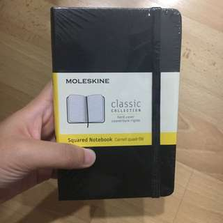 Molekine Pocket Squared Notebook