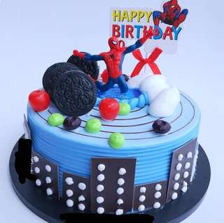 Spiderman party supplies - DIY Cake Deco / cake toppers / figurine
