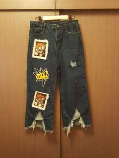 型爛牛仔褲!👍👍