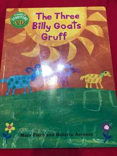 🚚 The three billy goats gruff (with CD)
