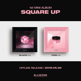 BLACKPINK 1ST MINI ALBUM [SQUARE UP]