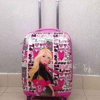 Barbie luggage bag