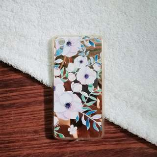 Preloved Oppo A37 Mirror Floral Case