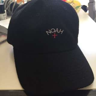 Noah black cap(毛面)