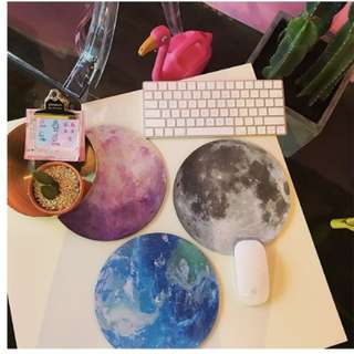 Moon/ Planet Mousepad