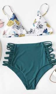 (Swimwear) Two Piece Printed Bikini