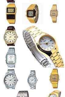 Various Casio Watches