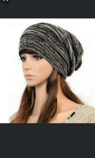 Fashion Women Knit Baggy Beanie Beret Winter Warm