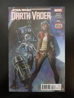 Higher Grade Darth Vader #3: 1st Dictor Chelli Aphra
