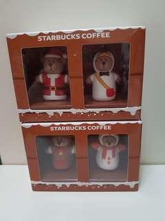Starbucks Xmas keychain