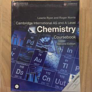 Cambridge A-Levels Chemistry Textbook (Ryan and Norris)