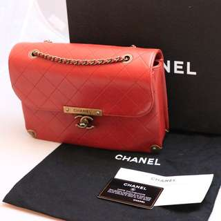 Brand New authentic Chanel Lambskin Flap Bag