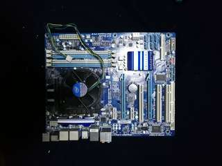 Gigabyte GA-P55A-UD3P Motherboard and i5-760 processor