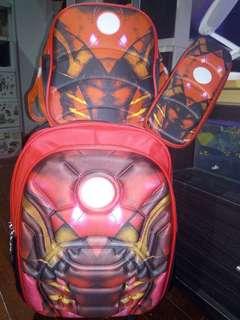 Iron Man Trolley Bag