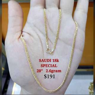 All Chains- Genuine 18K|750 Gold