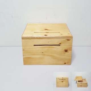 [For Rent] Wooden Ang Bao Box DIYJ001