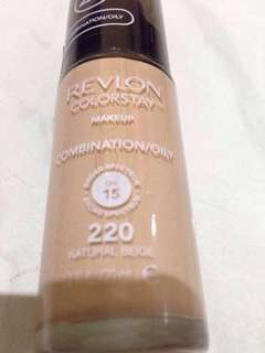 Revlon Colorstay for Combination/Oily Skin 220 Natural Beige