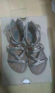Steve Madden metallic sandals (21 cm)