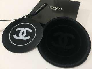Chanel 絲絨鐵片鏡