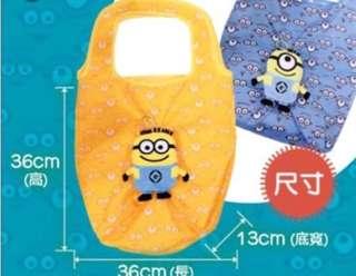 全新 Minions 藍色環保袋