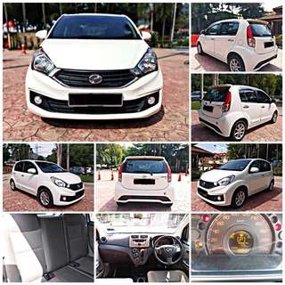 SAMBUNG BAYAR/CONTINUE LOAN  PERODUA MYVI ICON 1.3 AUTO YEAR 2016 MONTHLY RM 650 BALANCE 5 YEARS ROADTAX VALID TIPTOP CONDITION  DP KLIK wasap.my/60133524312/myvi1.3