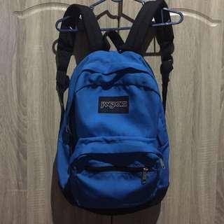 Original Jansport Blue Bag