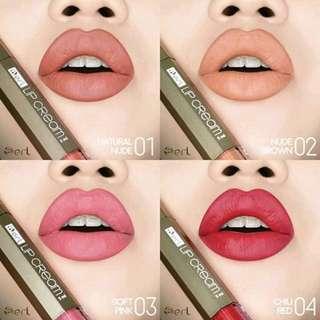 Lip matte cream