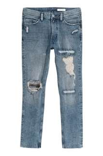 H&M 360 Degrees Slim Flex Jeans for Men Size 34