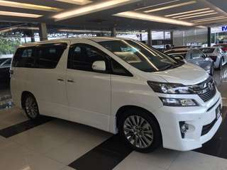 Toyota Vellfire 2.4 Golden Eyes