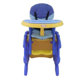 Lesbebes Safety Protection 3-in-1 Highchair