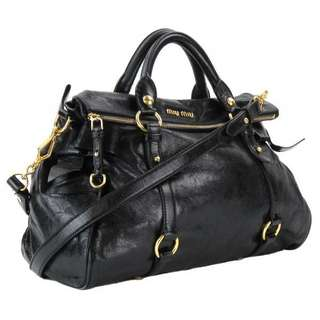 Miu Miu ribbon leather bag 袋