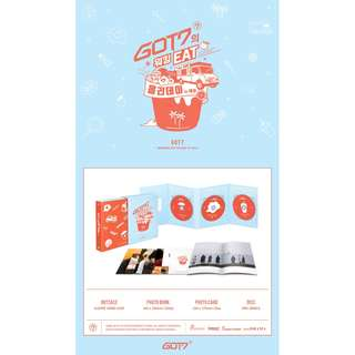 [PREORDER] GOT7 (갓세븐) - GOT7 WORKING EAT HOLIDAY IN JEJU DVD (3 DISC)
